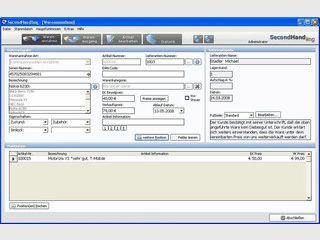 Warenwirtschaft und Kassensystem für die Secondhand-Branche.