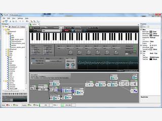 Verwandelt den Computer in einen leistungsfähigen Synthesizer.