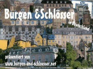 Bilder von Burgen und Schlössern in Deutschland