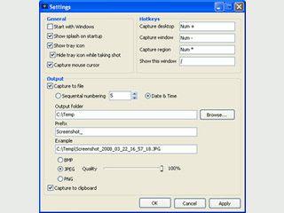 Einfache Software zum Anfertigen von Screenshots. Auch von Videos.