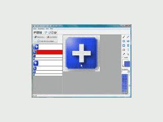 Software zum Erstellen und Bearbeiten von Icons mit vielen Funktionen.