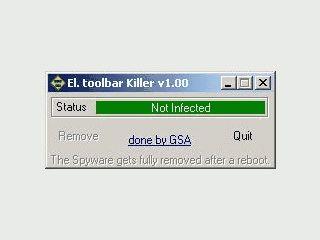 Entfernt die Elite Toolbar wieder von einem System.