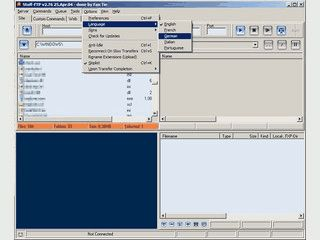 FTP-Client mit integriertem Glftpd Manager
