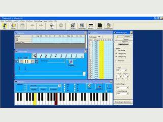 Software für Musikunterricht zur Schulung von Gehör, Rhythmus usw.