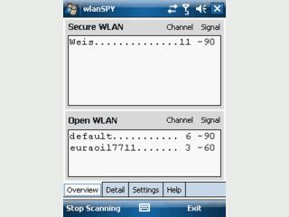 Offene WLANs unter Windows Mobile finden und sich einwählen.
