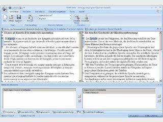 Deutsch - Spanisch, Spanisch - Deutsch Übersetzer für jede Art von Texten.