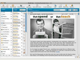 RSS Reader für den Mac um beliebig viele Feeds zu überwachen.
