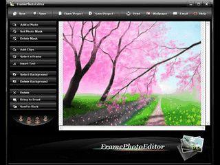 Bildbearbeitung um Bilder zusammen zu fügen und mit Rahmen zu versehen.