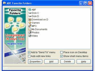 Schneller Zugriff auf häufig verwendete Ordner über das Kontextmenü im Explorer