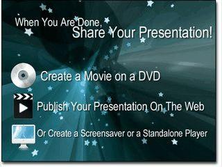 Software zum Erstellen von Slideshows mit Bildern, Videos und Text.