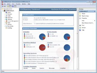 Hardware- und Software-Inventarisierung in Netzwerken.