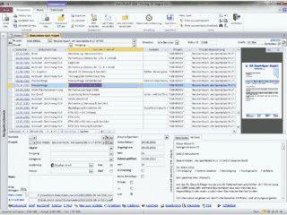 Software zum Dokumenten-Management.