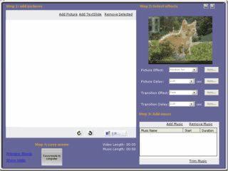 Slideshows eigener Bilder als Videodatei speichern.