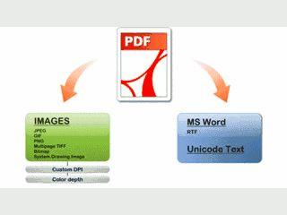 .Net Komponente um PDF Dateien in das Word Format zu konvertieren.