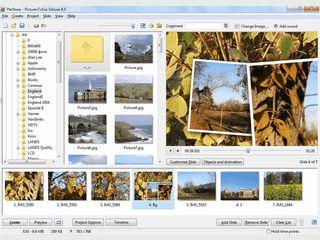 Slideshows eigener Bilder mit aktuellen Zoom-Effekten erstellen.