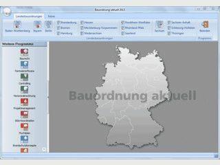 Bauordnung-aktuell enthält die Landesbauordnungen aller Bundesländer