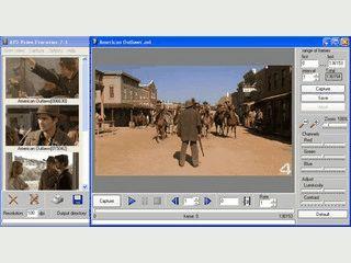 Erstellt aus AVI Videodateien, animierte GIFs und Einzelbilder.