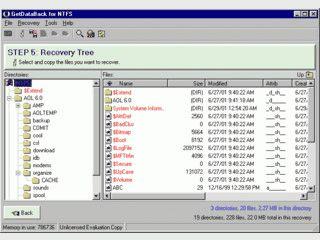 GetDataBack fuer NTFS