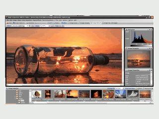 Umfangreiches Werkzeug für die Digitalfotobearbeitung.
