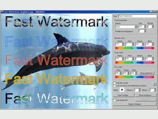 Bildern ein Wasserzeichen hinzufügen.
