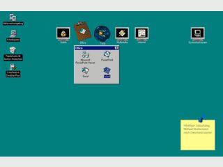 enormasoft Desktop Plus räumt auf Ihrem Desktop auf.