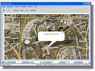 Fügt Digitalbildern Geodaten hinzu.