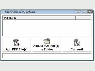Einfache Software mit der sich PDF-Dateien in JPG Bilder umwandeln lassen.
