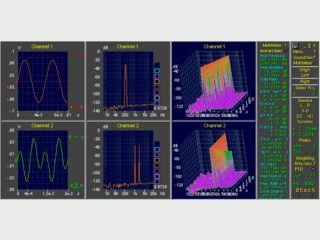 OscilloMeter ist ein Audio Spectrum Analyzer für acht Kanäle.
