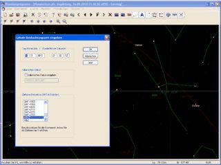 Astronomie-Software für Dreikörperprobleme, Sterne und Planeten.