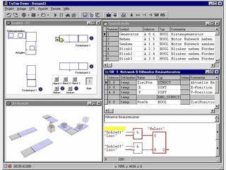 Demoversion der professionellen SPS-Simulationssoftware TrySim
