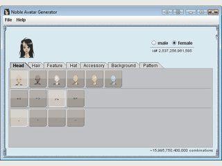 Mit diesem Tool können Sie einen zufälligen Avatar für beliebige Zwecke erstelle