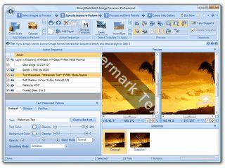 Umfangreiches Utilitie zur automatischen Bildbearbeitung mit Gallerie-Funktion.