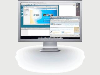 Parallels Server für Mac Server.