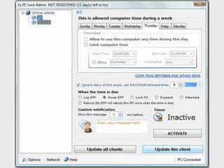 Client-Server-basierte Anwendung zur Zeiterfassung und Zugriffskontrolle.