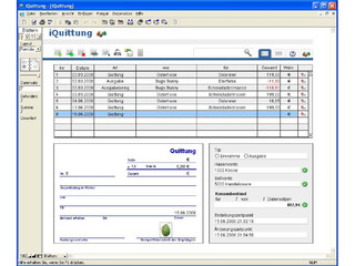 Digitaler Quittungsblock und Kassenbuch mit Exportfunktion für die FIBU.