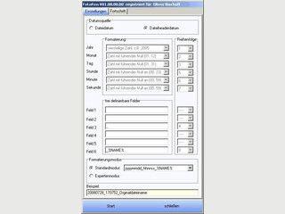 Umbennenung von Bild-Dateien zur anschliessenden chronologischen Sortierung