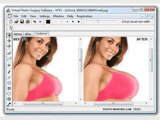 Software mit der sich Bereiche auf Digitalbildern vergrößern und ausweiten lasse