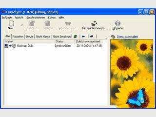 Synchronisiert Dateien und Verzeichnisse zwischen zwei Computern.