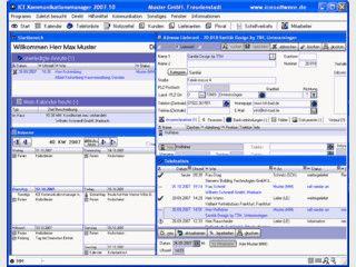 Software für die Verwaltung aller anfallenden Arbeiten im Kundenmanagement.