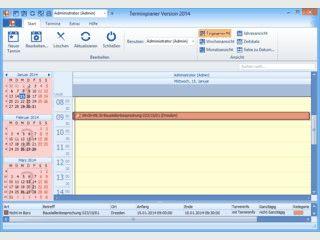 Software zur Verwaltung Ihrer geschäftlichen und persönlichen Termine.