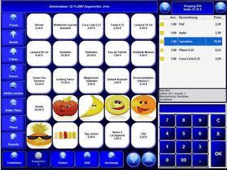 Kassensoftware für beliebige Branchen mit Warenwirtschaft, Kundenverwaltung usw.