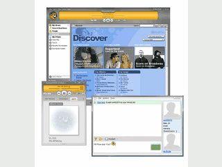 Tauschsoftware für kostenlose Multimedia-Inhalte wie Videos und Musik.