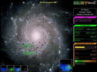 Einfaches Strategiespiel um die Herrschaft im Weltraum.
