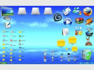 Ersetzt die Icons des Windows Desktops.