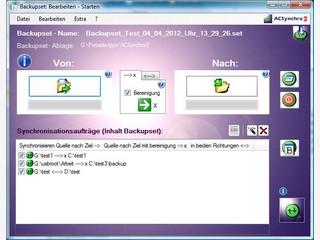 Programm um zwei Laufwerke oder Verzeichnisse zu synchronisieren