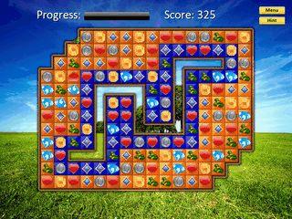 Denkspiel mit 100 Leveln und Leveleditor zum Erstellen eigener Level.