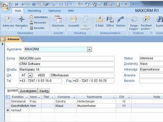 CRM Software für Vertrieb, Marketing, Office und Auftragsbearbeitung.