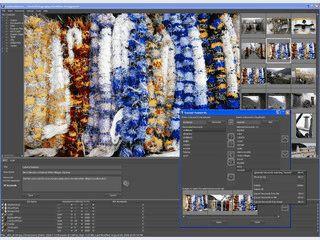 Bilder automatisch auf die Webseiten von Photostock-Anbieter hochladen.