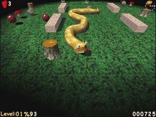 3D Variante des bekannten Snake Spiel.