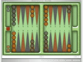 Backgammon für Anfänger und Profis mit 5 Schwierigkeitsstufen.